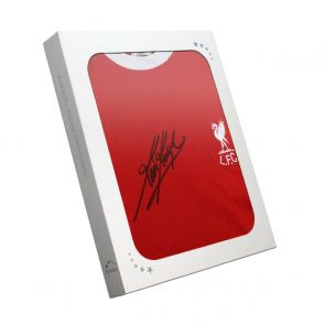 Kevin Keegan Signed 1973 Liverpool Shirt. In Gift Box