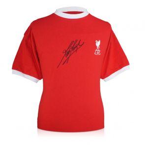 Kevin Keegan Signed 1973 Liverpool Shirt
