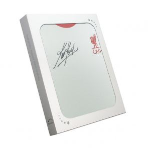 Kevin Keegan Signed Liverpool 1973 Away Shirt. In Gift Box
