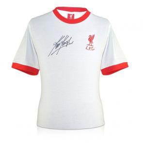 Kevin Keegan Signed Liverpool 1973 Away Shirt