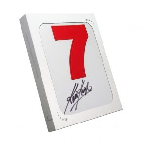 Kevin Keegan Signed Liverpool Away Shirt: Number 7. In Gift Box