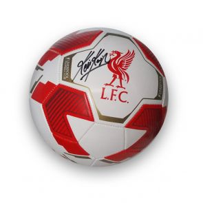 Kevin Keegan Signed Liverpool Football