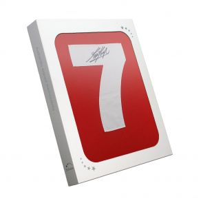 Kevin Keegan Back Signed Liverpool 1973 Number Seven Shirt In Gift Box