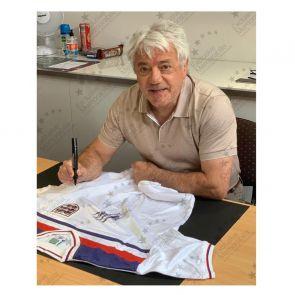Kevin Keegan Signed 1982 England Shirt