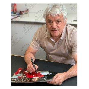Kevin Keegan Signed Liverpool Photo. Deluxe Frame