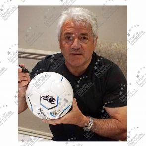 Kevin Keegan Signed Newcastle United Football