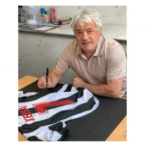 Kevin Keegan Signed Newcastle United 1984 Shirt. Deluxe Frame