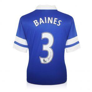 Leighton Baines Autographed Everton Shirt