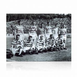 Celtic Lisbon Lions Signed Line Up Photo