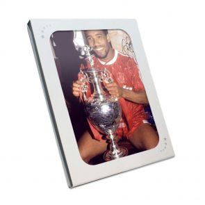 Signed John Barnes Liverpool Photo in gift box