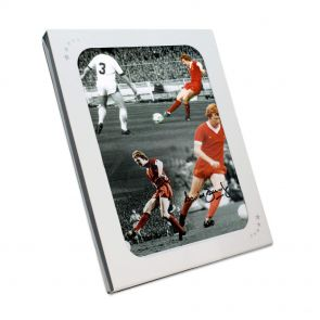 Signed David Fairclough Liverpool Photo In Gift Box