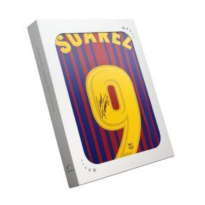 Luis Suarez Signed Barcelona 2017-18 Football Shirt In Gift Box