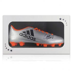 Luis Suarez autographed soccer shoe in gift box