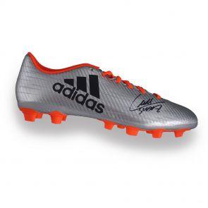 Luis Suarez autographed soccer shoe