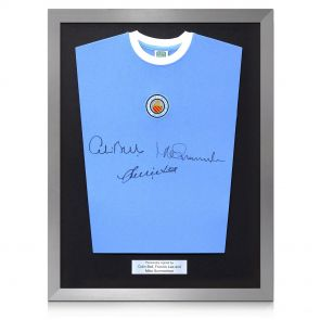 Framed Manchester City Shirt