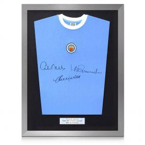 Framed Manchester City Shirt