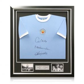 Deluxe Framed Manchester City Shirt