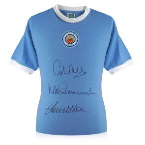 Manchester City Signed Shirt