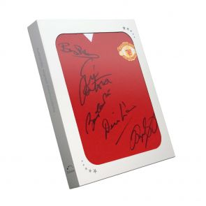 Multi Signed Manchester United Shirt