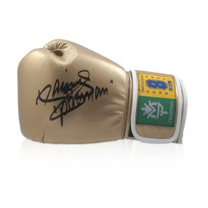 Manny Pacquiao Signed Gold Glove