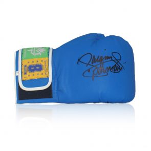 Manny Pacquiao Signed Boxing Glove (Blue)