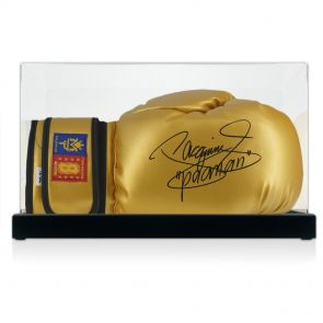 Manny Pacquiao Autographed Boxing Glove In Display Case