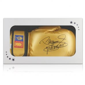 Manny Pacquiao Autographed Boxing Glove In Gift Box