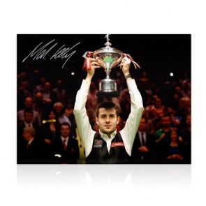 Signed Mark Selby Snooker Photo: World Champion! In Gift Box