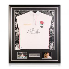 Signed Martin Johnson Shirt