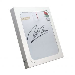 Signed Martin Johnson Shirt In Gift Box