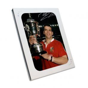Martin Johnson Signed Photo: British And Irish Lions. In Gift Box