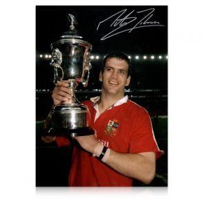 Martin Johnson Signed Photo: British And Irish Lions