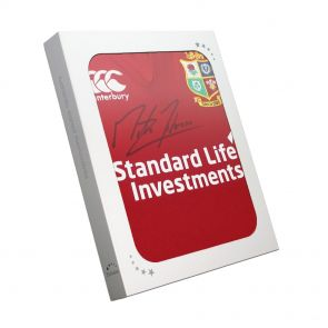 Martin Johnson Signed Shirt In Gift Box