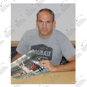 Martin Johnson Signed England Rugby Photo: On The Podium
