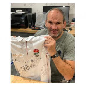 Pre-Order Dedicated Martin Johnson England Shirt