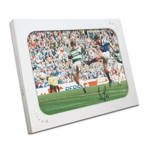 Ally McCoist Signed Rangers Photo: Old Firm Derby In Gift Box