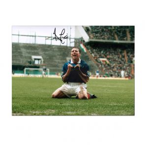 Ally McCoist Signed Rangers Photo: Scottish Cup Semi Final