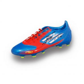 Signed Leo Messi Boot