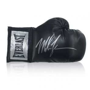 Mike Tyson Signed Black Boxing Glove