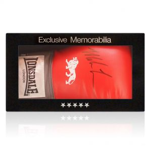 Signed Mike Tyson Glove In Gift Box