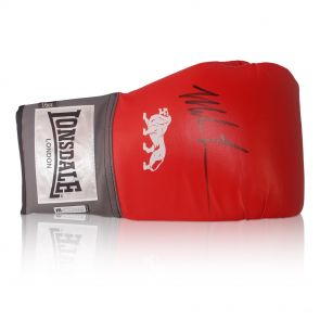 Deluxe Framed Mike Tyson Signed Lonsdale Boxing Glove