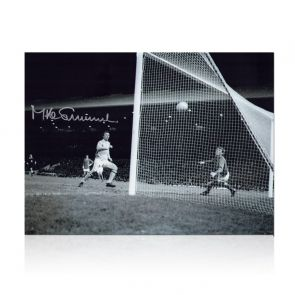 Mike Summerbee Signed Manchester City Photo