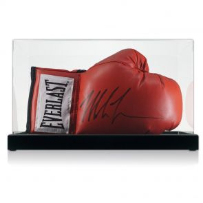 Signed Tyson boxing glove