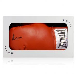 Muhammad Ali Signed Boxing Glove In Gift Box (PSA DNA 4A54131