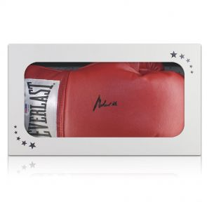 Muhammad Ali Signed Boxing Glove In Gift Box (PSA DNA 4A53395)