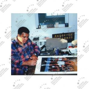 Muhammad Ali Signed Lithograph