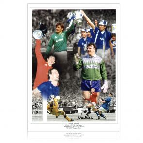 Neville Southall Signed Everton Photo