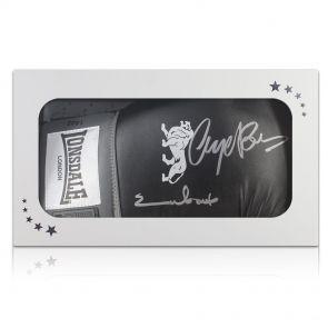 Nigel Benn & Chris Eubank Signed Glove In Gift Box