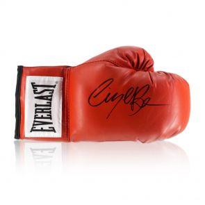 Nigel Benn Signed Everlast Boxing Glove In Display Case