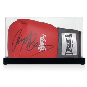 Nigel Benn Signed Glove In Display Case